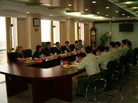 Executive meeting China Fire Service 2005